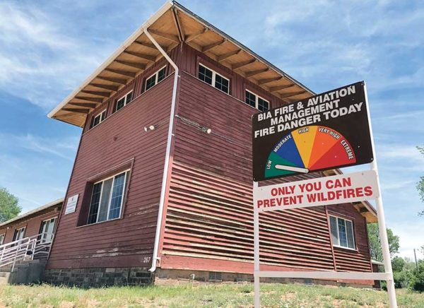 Fire Crews Ready, Caution Urged with Any Burning on Navajo Nation