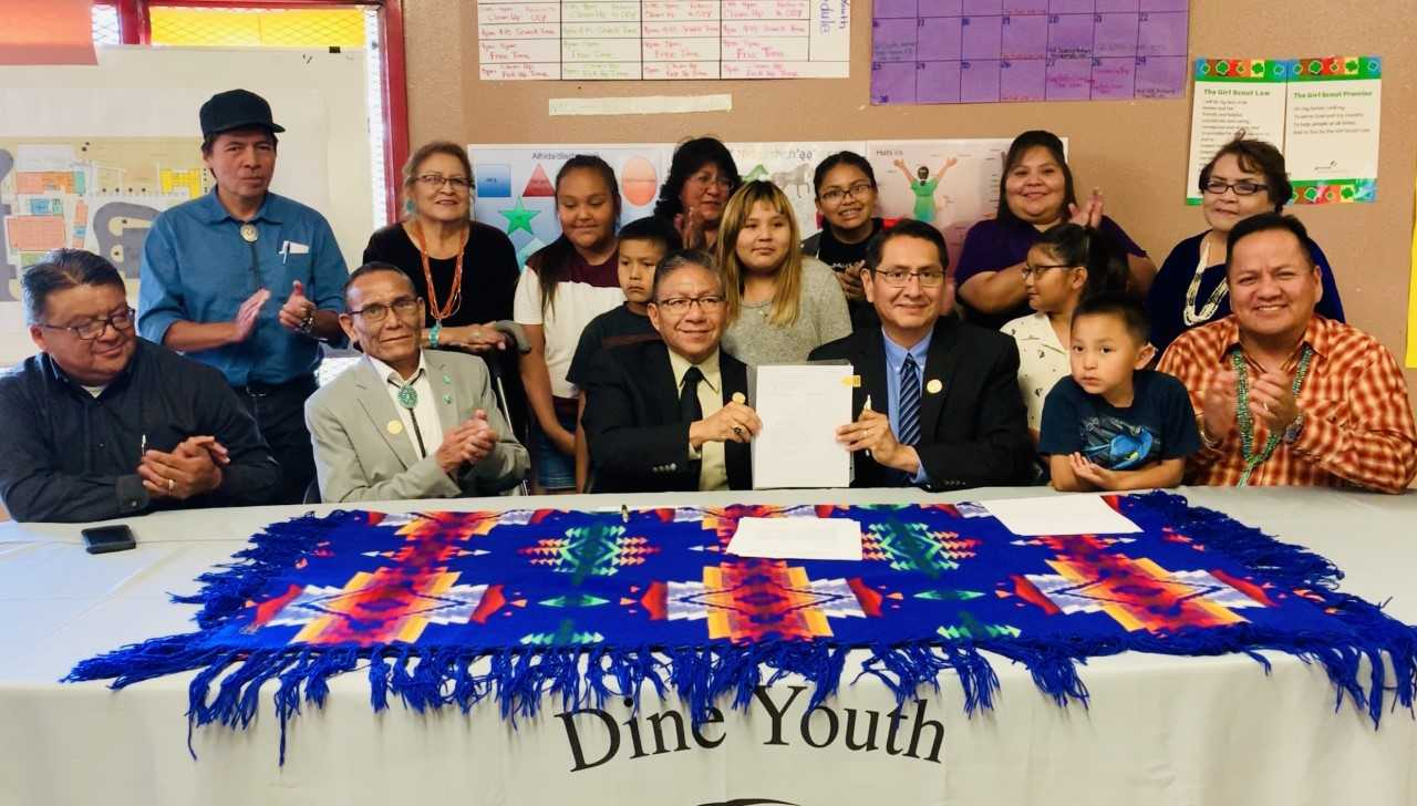 Navajo Nation President Nez & VP Lizer Approve $2.5 Million to Construct the Long-awaited Crownpoint Youth Center