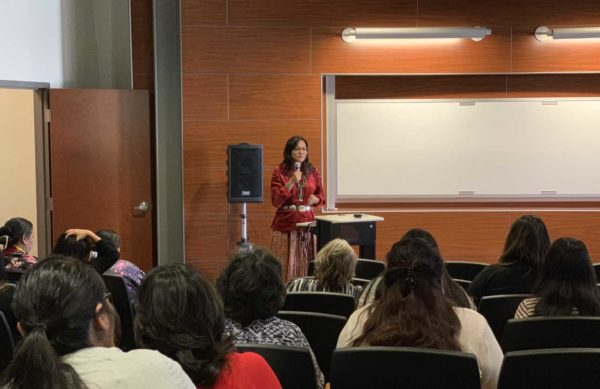 Navajo Nation First Lady Phefelia Nez Delivers Message ofHealing at Missing & Murdered Diné Relatives Forum