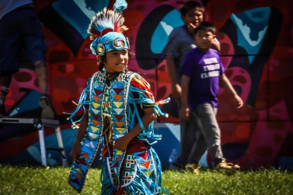 The Cheyenne River Youth Project's 5th Annual RedCan Invitational Graffiti Jam Kicked Off