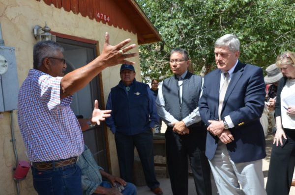 Navajo Council Delegate Henio Hosts U.S. Census Director to Experience First-hand the Barriers of Counting on Navajo