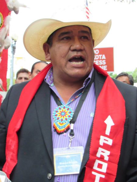Cheyenne River Sioux Chairman Calls Circuit Court of Appeals Keystone XL Pipeline Decision Legal Thuggery