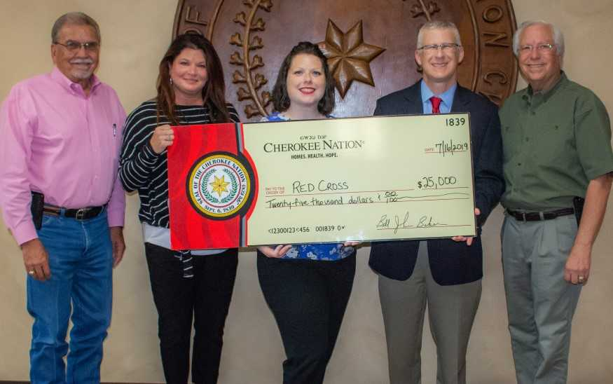 Cherokee Nation Contributes $25,000 to Assist Red Cross with Flood Relief