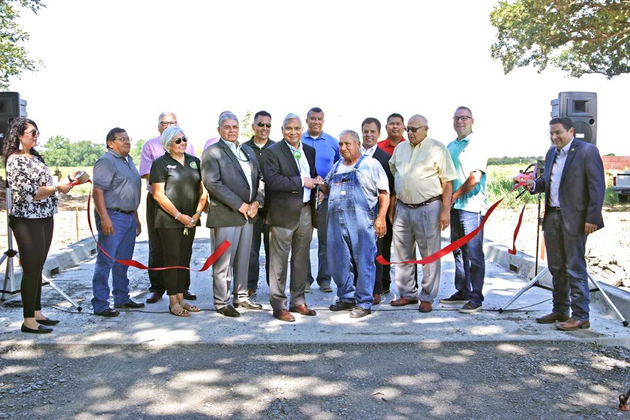 Muscogee (Creek) Nation holds dedication for state-of-the-art bridge