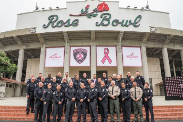 The San Manuel Department of Public Safety Joins Pink Patch Project in Support of Breast Cancer Awareness