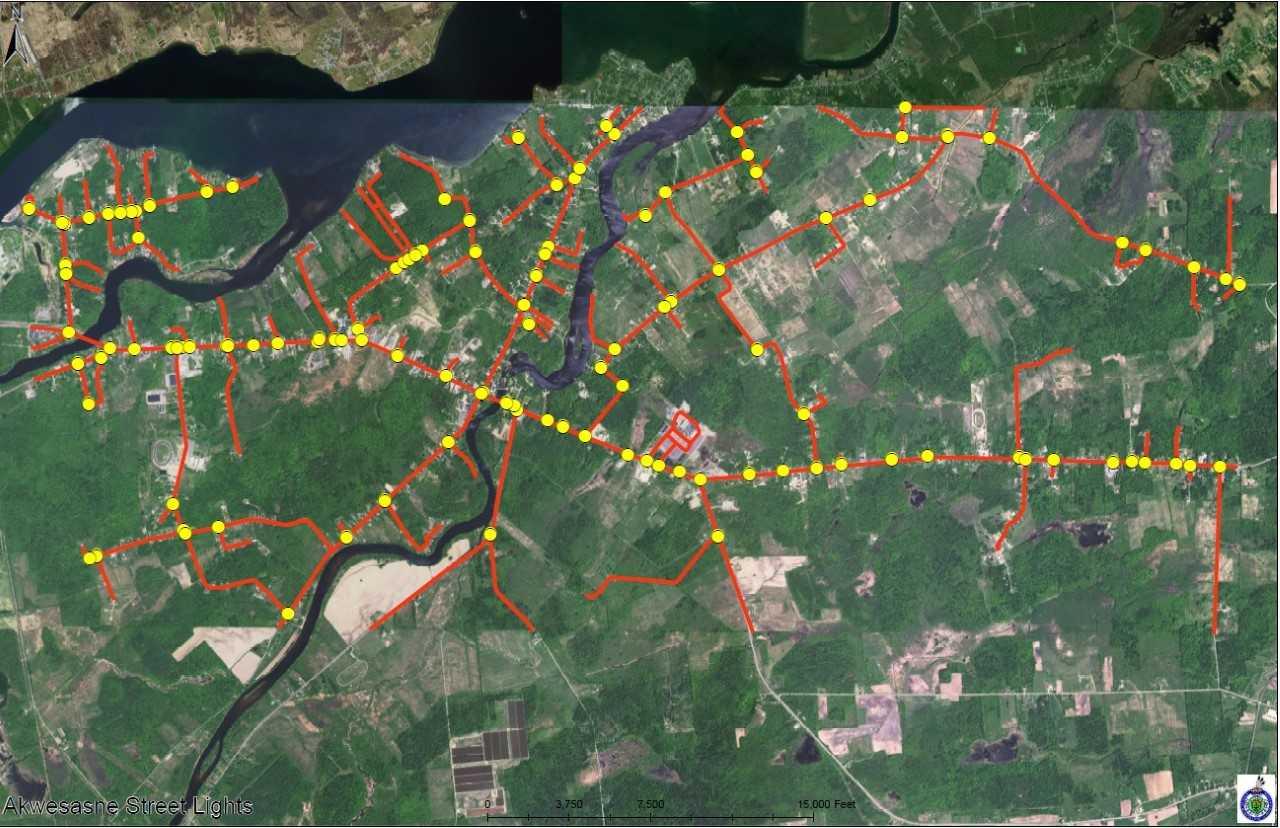 Akwesasne Community Streetlight Project Expands