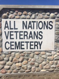 All Nations Veterans Cemetery Dedication To Be Held on Standing Rock Indian Reservation