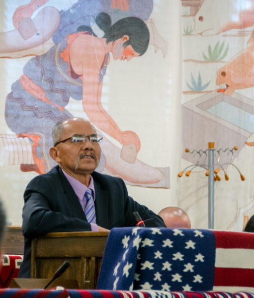 Let's Journey Together: Navajo Nation Council Delegate Nelson S. BeGaye Resigns