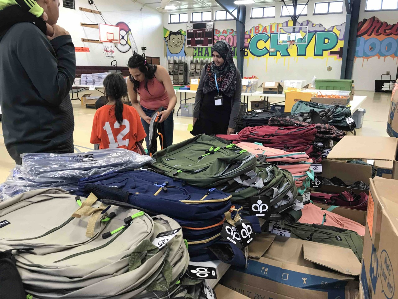 The Cheyenne River Youth Project Distributes School Supplies to More Than 500 Children
