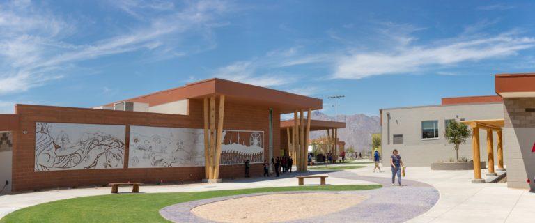 Gila River Indian Community, US Dept. of the Interior Creatively Partner, Open Historic K-8 School