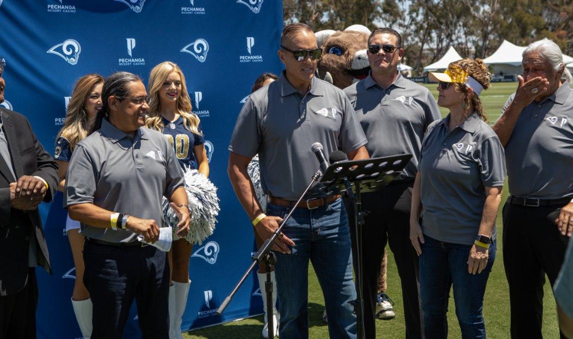 Los Angeles Rams & Pechanga Announce Partnership