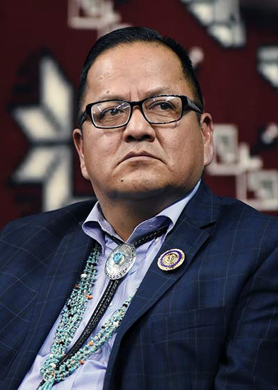 Navajo Nation Delegate Wants Action on Climate Change