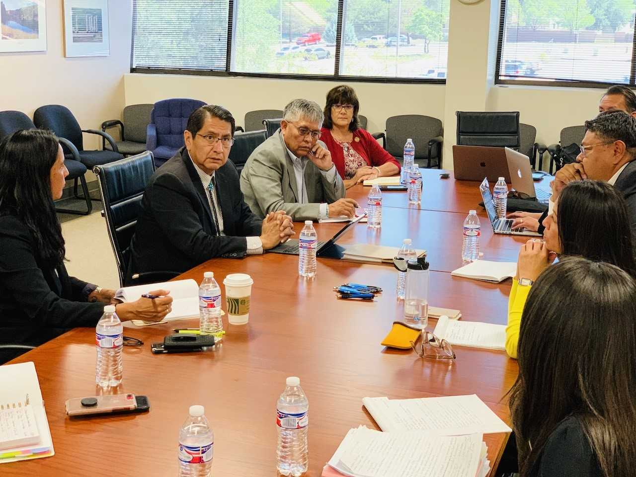 Navajo Nation Leaders Discuss Impact Aid Funds for Native American Students in New Mexico