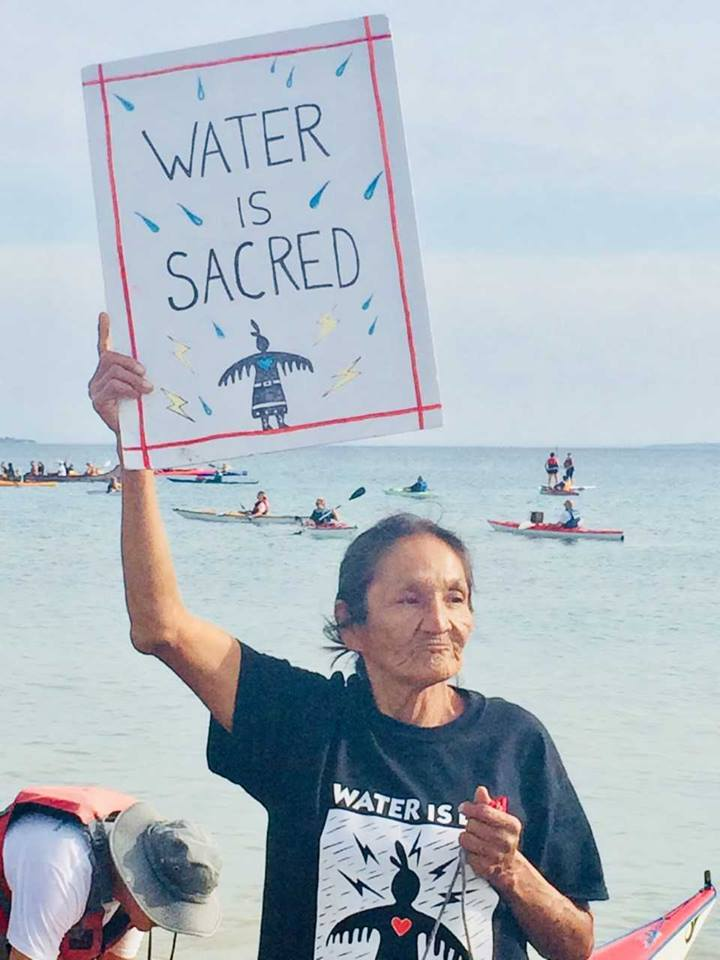 Michigan Tribal Citizens Host Family & Water Advocate Event