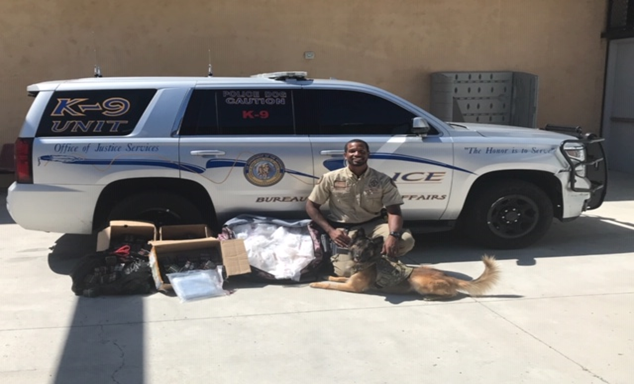 Interior's Law Enforcement K-9 Unit Seizes More Than $4 Million Dollars of Narcotics in Indian Country