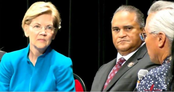 "Sen. Warren Apologies ""for harm caused"" at Native American Presidential Forum"