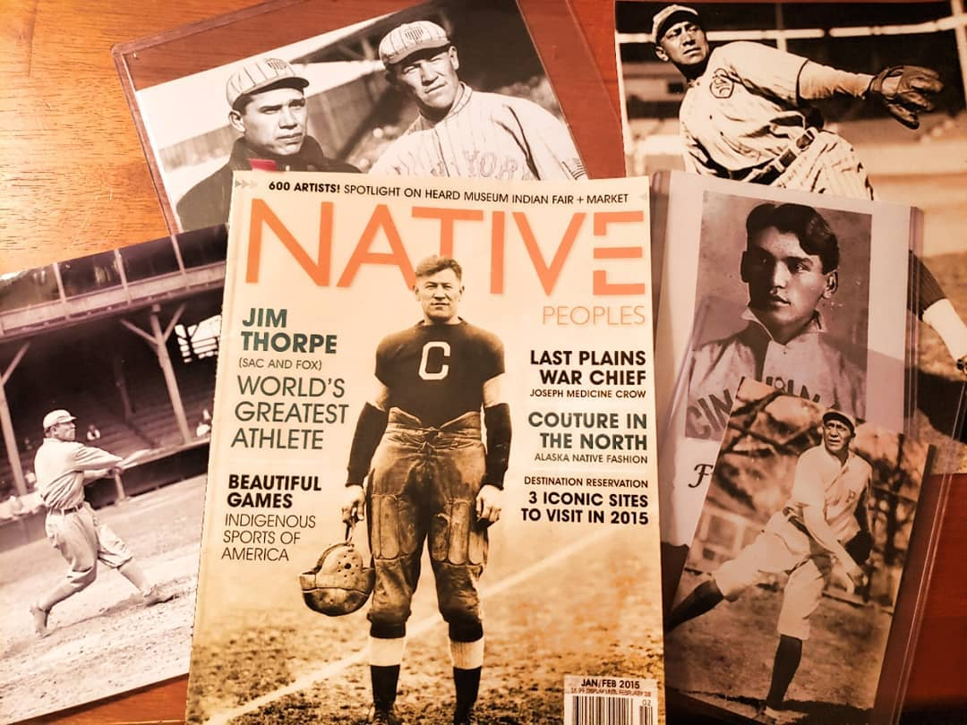 """""""American Indians in Major League Baseball: The First Fifty Years"""" Exhibit on Display at Cherokee Heritage Center"""