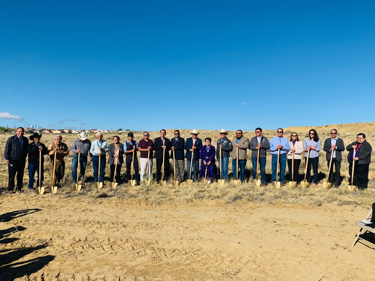 Crownpoint Community Reaches Another Milestone with the Groundbreaking of the New Hotel and Conference Center