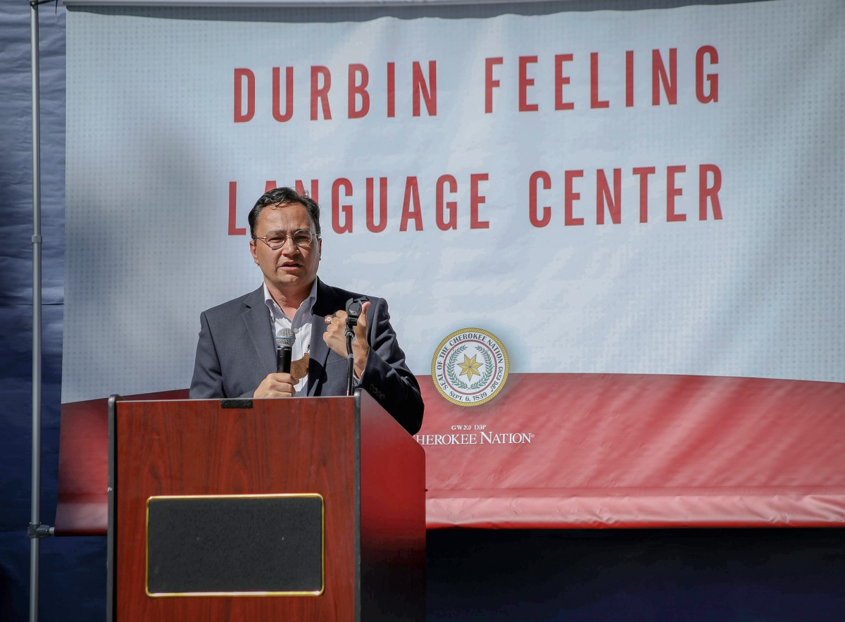 Cherokee Nation Principal Chief Hoskin Announces Largest Language Initiative in Tribe's History