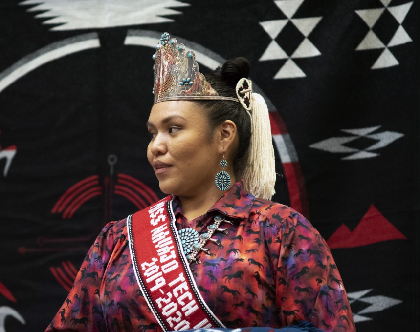 Navajo Technical University Crowns Leomi Foster as Its New Ambassador for 2019-2020