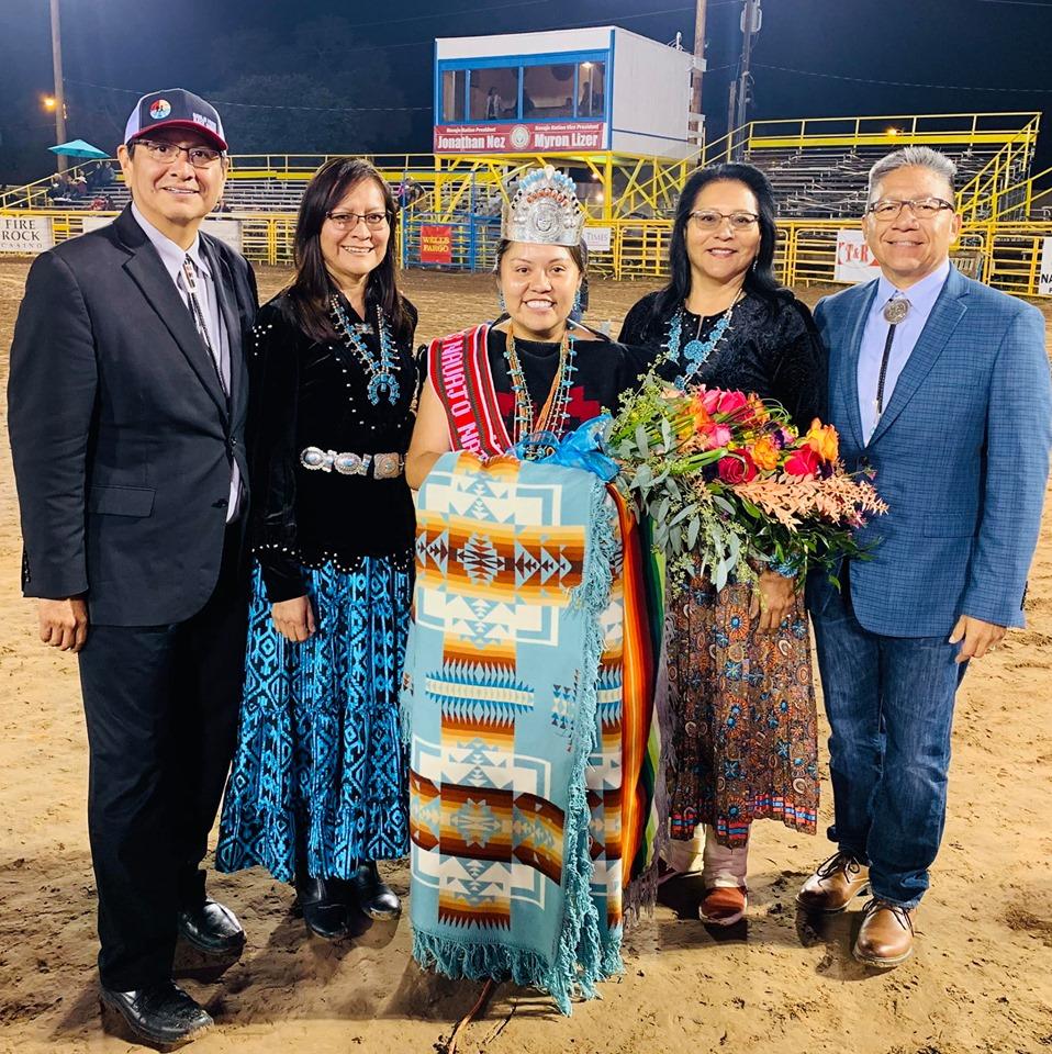 Shaandiin Parrish is Crowned 2019-2020 Miss Navajo