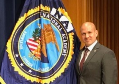 Mashantucket Tribal Police Captain George Potts Graduates from FBI National Academy First Tribal Police Officer in Connecticut to Complete FBI Training