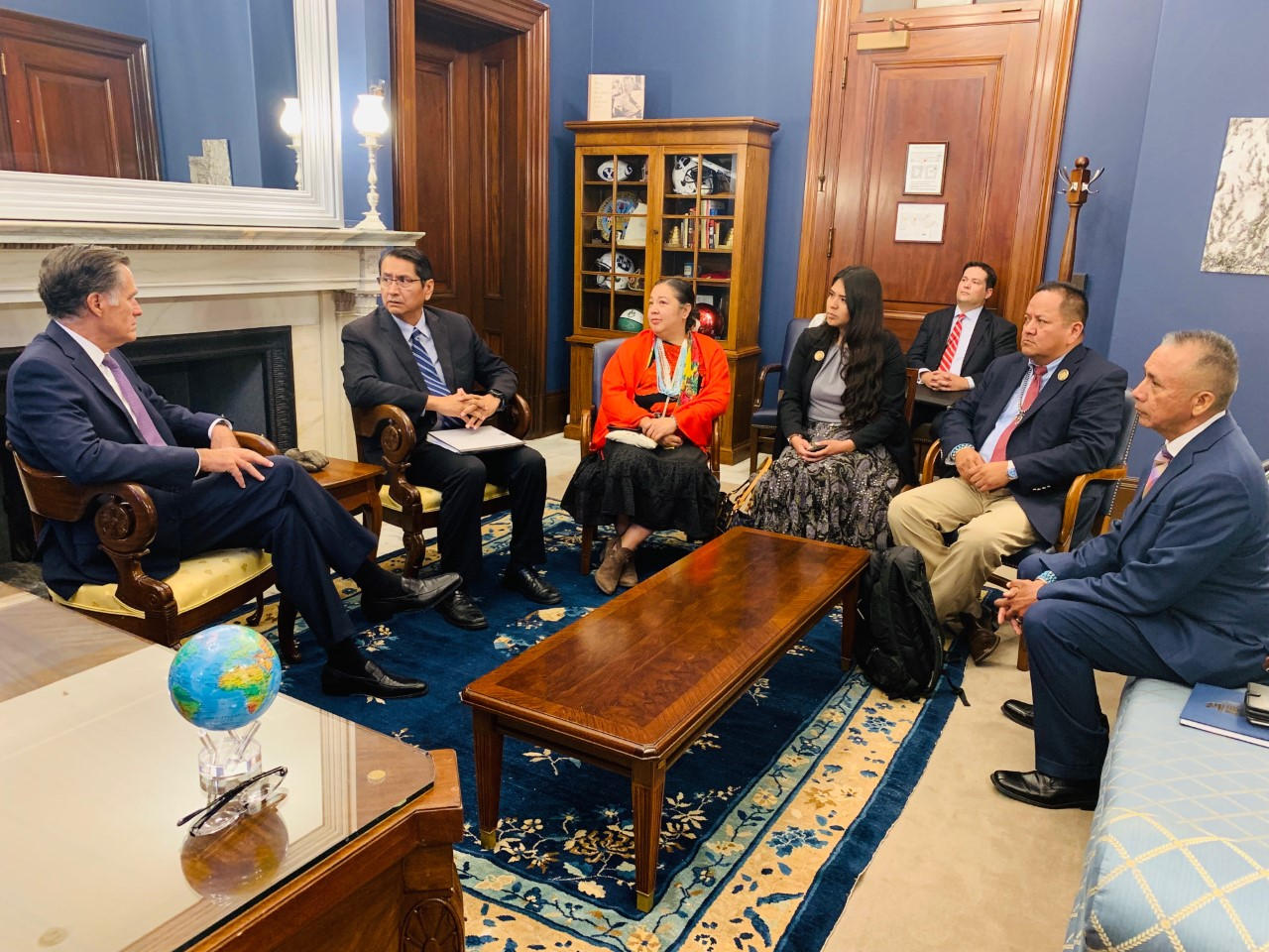 Navajo Nation President Nez Advocates for the Navajo Nation on Capitol Hill