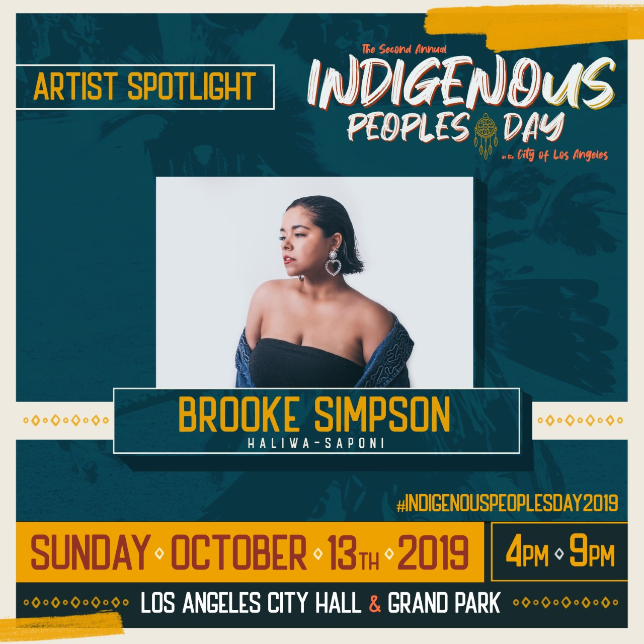Native American Artists Brooke Simpson, PJ Vegas & Redbone to Perform at Indigenous Peoples Day Celebration on Oct. 13 in LA