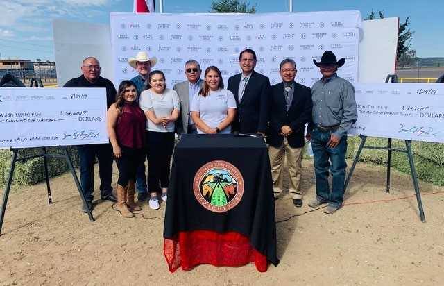Navajo Nation Gaming Enterprise Presents $120,720 Contribution for the 73rd Annual Navajo Nation Fair