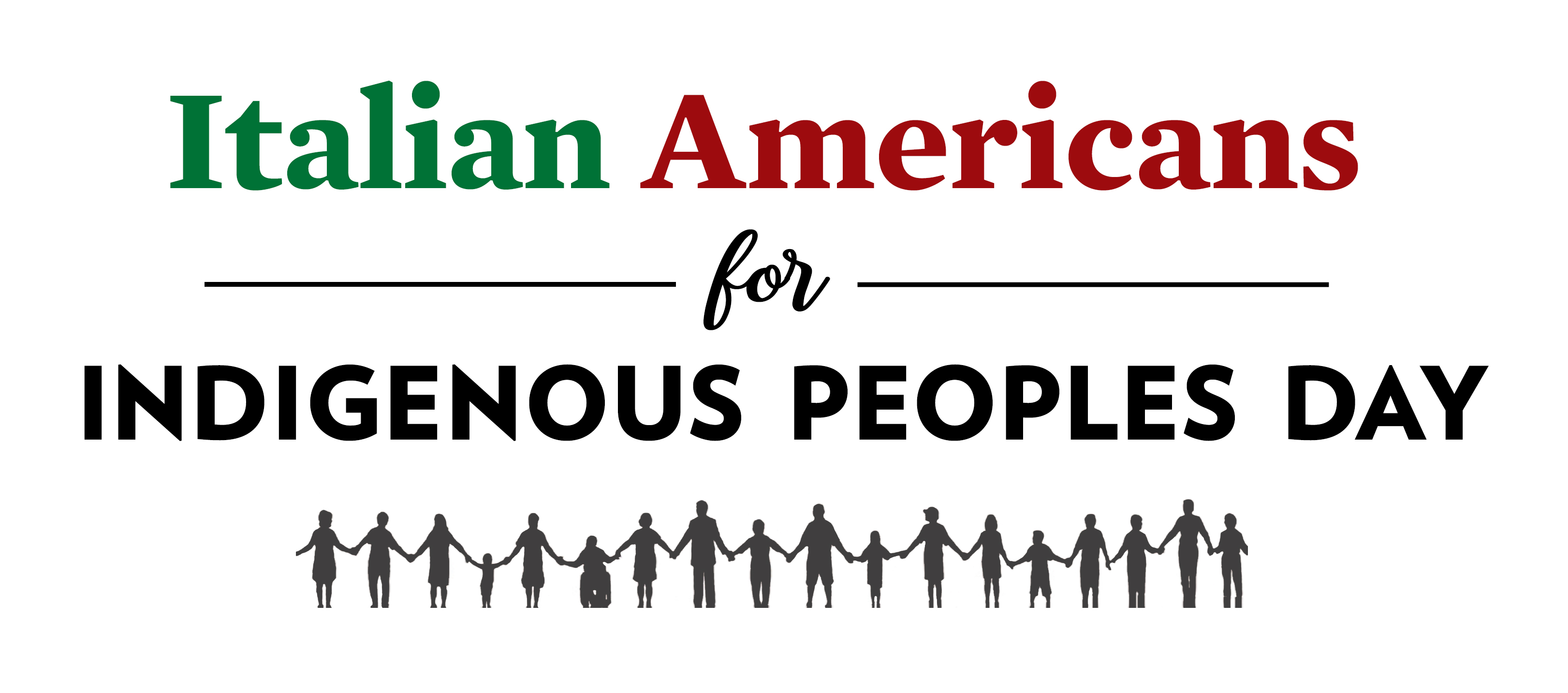 Italian Americans for Indigenous Peoples Day Call to Action!