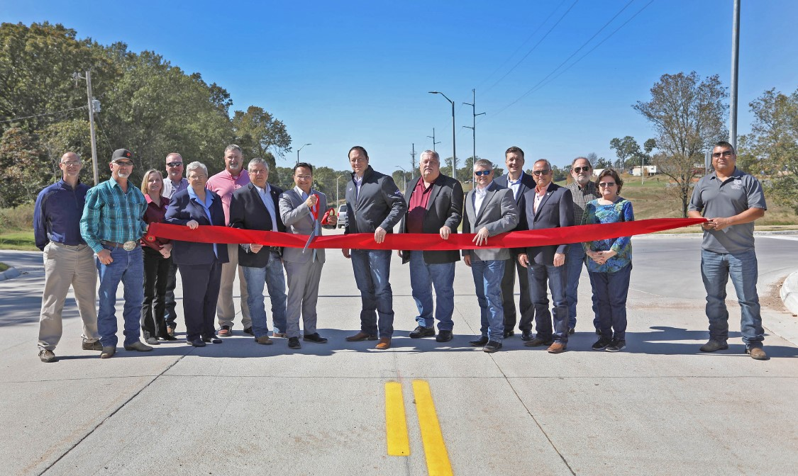 Cherokee Nation Cuts Ribbon on Road Project Providing Access to New Outpatient Health center
