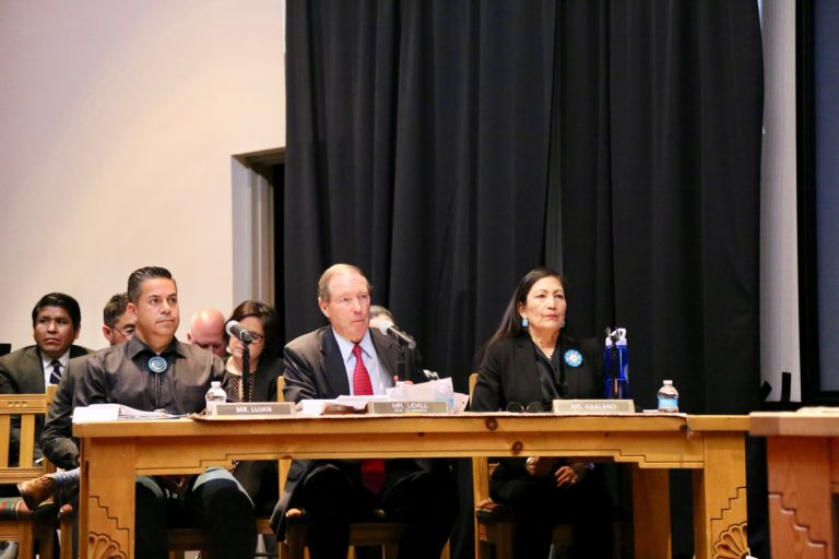 Udall Chairs Indian Affairs Field Hearing on the Legacy of Uranium Mining in New Mexico & Indian Country