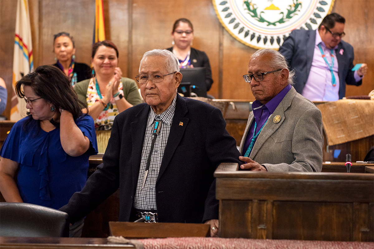 24th Navajo Nation Council  Acts on 19 Legislations at Fall Session