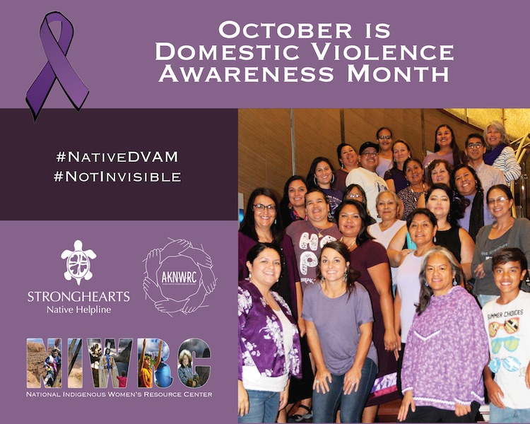 Native Advocates Kickoff Domestic Violence Awareness Month