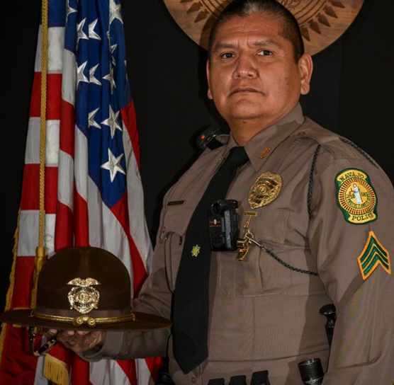 Nez-Lizer offer condolences to the family and colleagues of Navajo Police Sergeant Lamar Martin