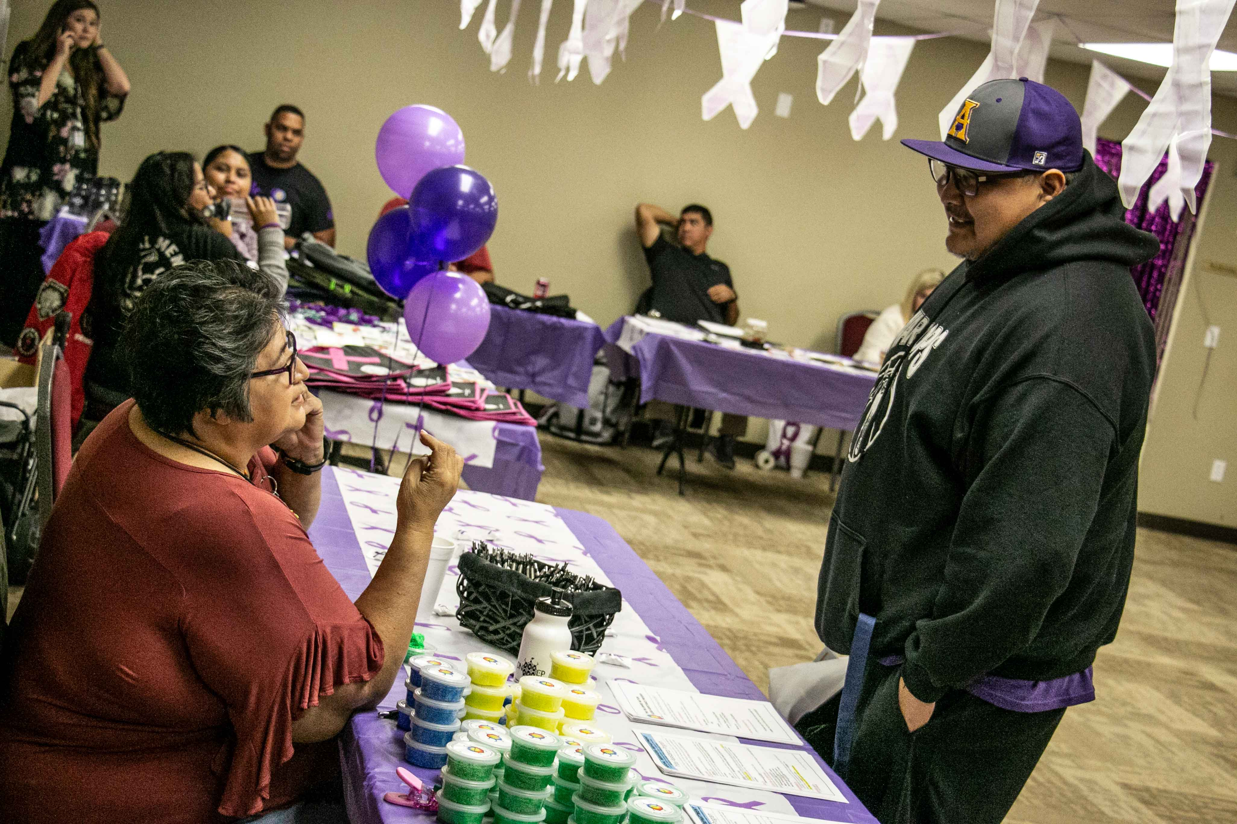 Domestic Violence Awareness Health Fair For The Community Of Anadarko Was A Success