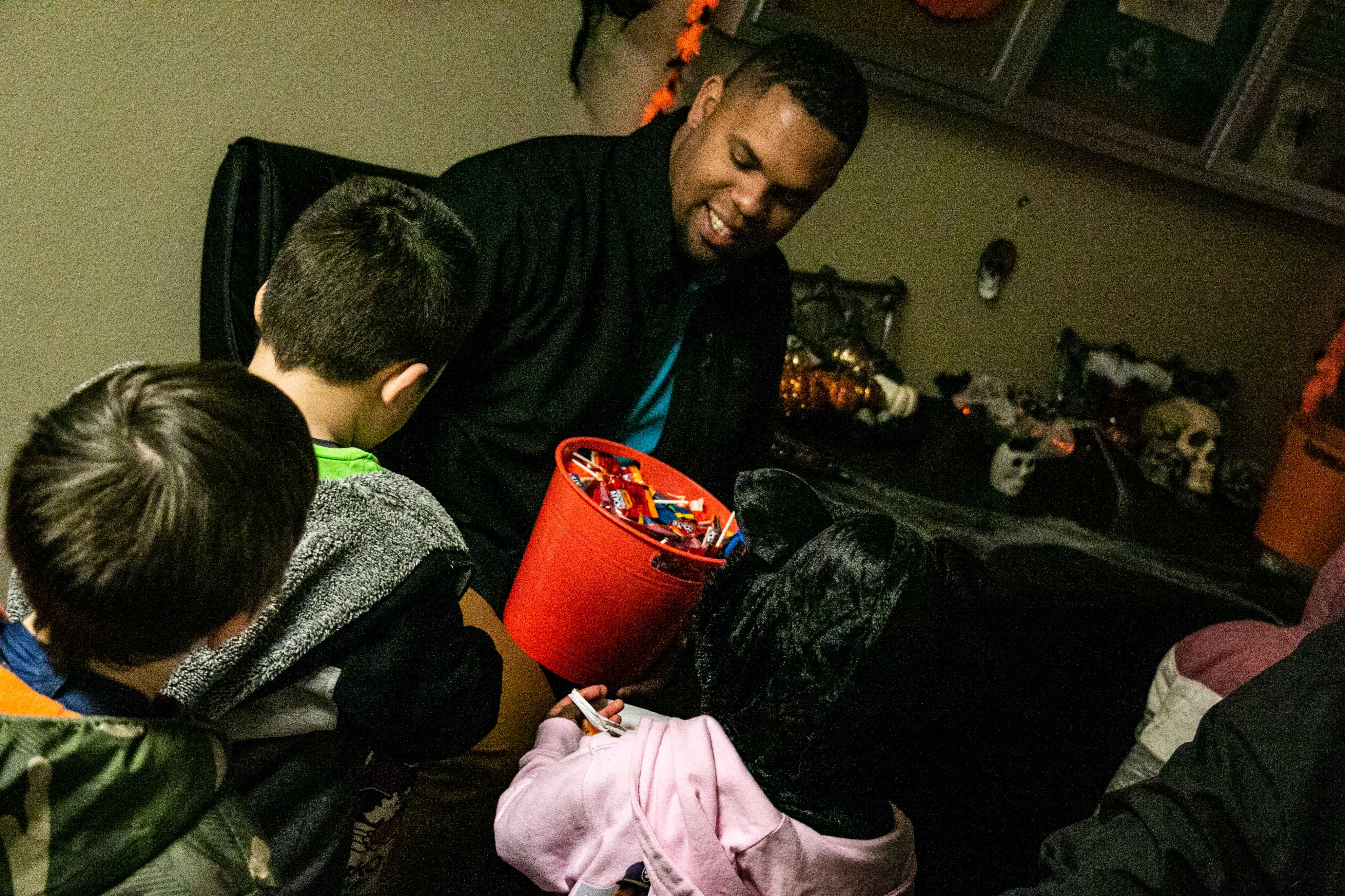 Trick Or Treat Event Bringing Native American Students Together For Halloween Fun And Treats