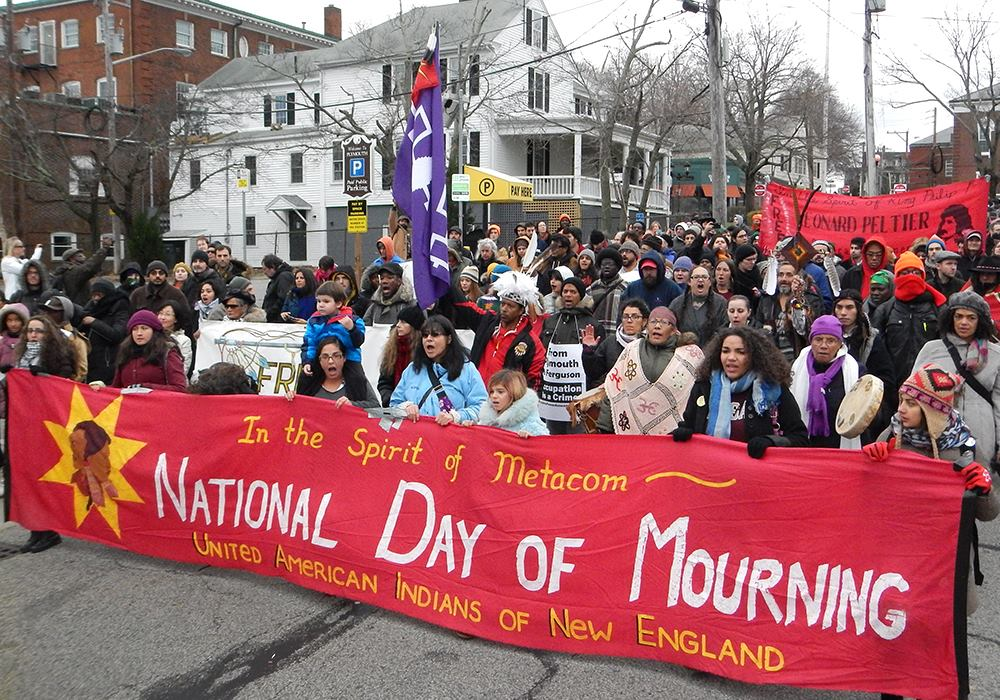 50th National Day of Mourning to be Observed in Plymouth, Mass on Thursday at Noon
