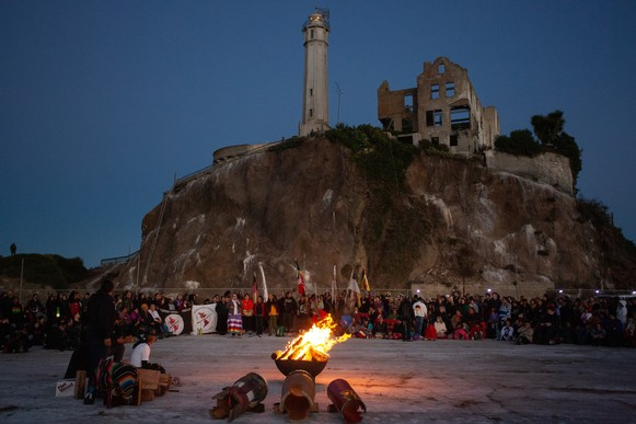 International Indian Treaty Council to Host Indigenous Peoples Thanksgiving Sunrise Gathering Commemorating the 50th Anniversary of Alcatraz Occupation