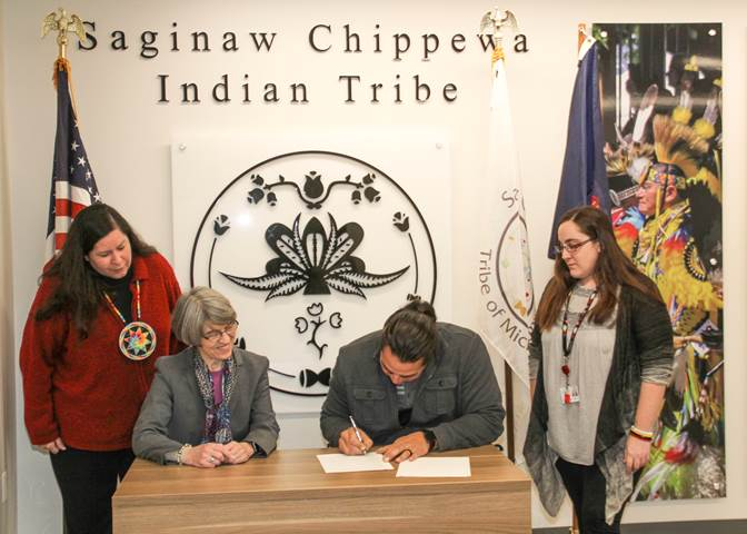 Saginaw Chippewa and State of Michigan to Begin Co-Management of the Sanilac Petroglyphs Historic State Park