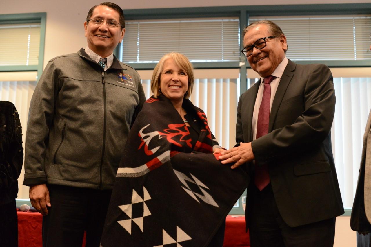 New Mexico Governor Michelle Lujan Grisham visits Navajo Technical University