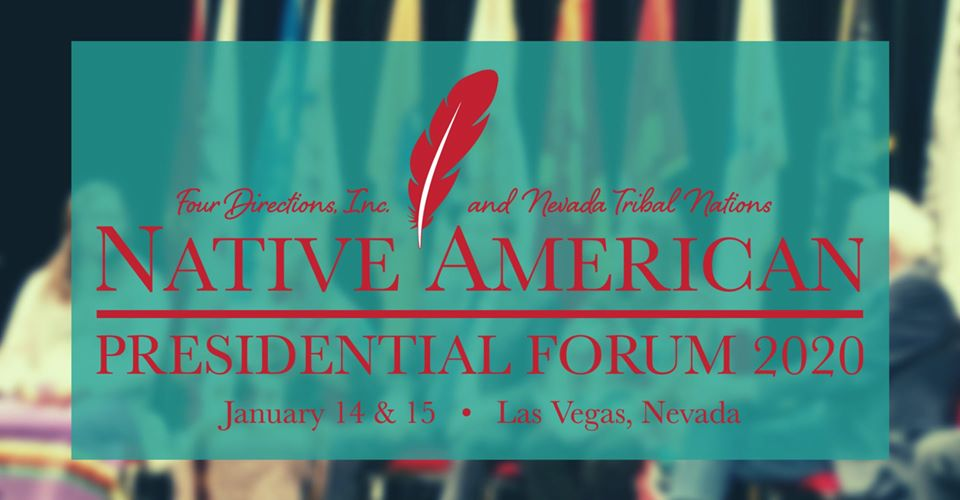 Day Two: View LIVESTREAM of Native American Presidential Forum 2020
