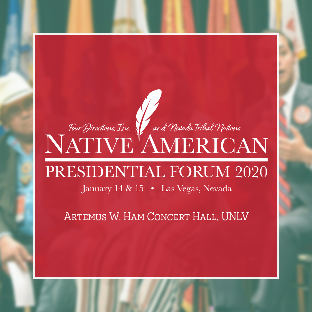 NARF Co-hosts Second Native American Presidential Forum