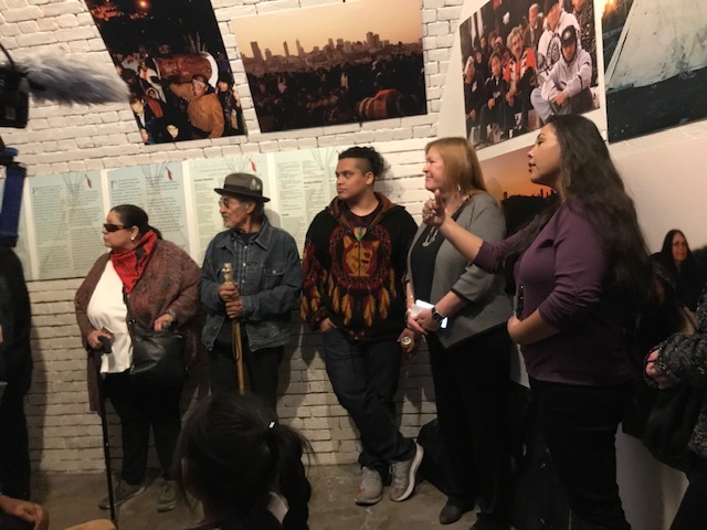 Bernie's Wife, Jane Sanders, Visits Indigenous Grassroots Leaders on Alcatraz Island