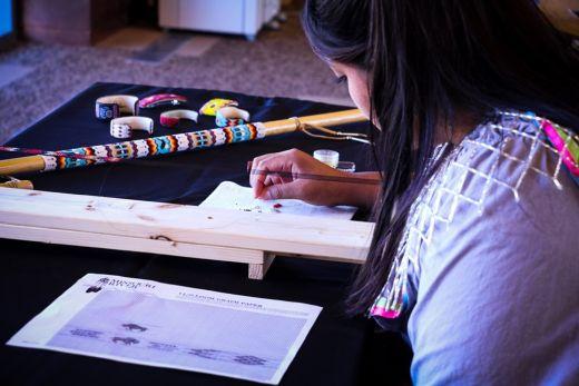 Award-winning Bead Worker Courtney Parchcorn to Attend Artesian Arts Festival