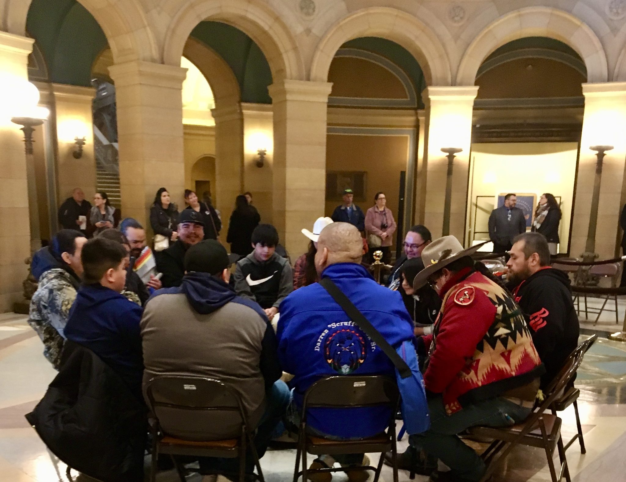 Red Lake Day Held at Minnesota State Capitol