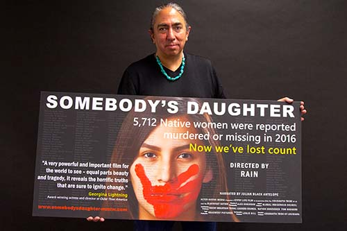 """Free of Iowa Chaos, 2020 Presidential Candidate Films Special Intro for MMIW Documentary, """"Somebody's Daughter"""""""
