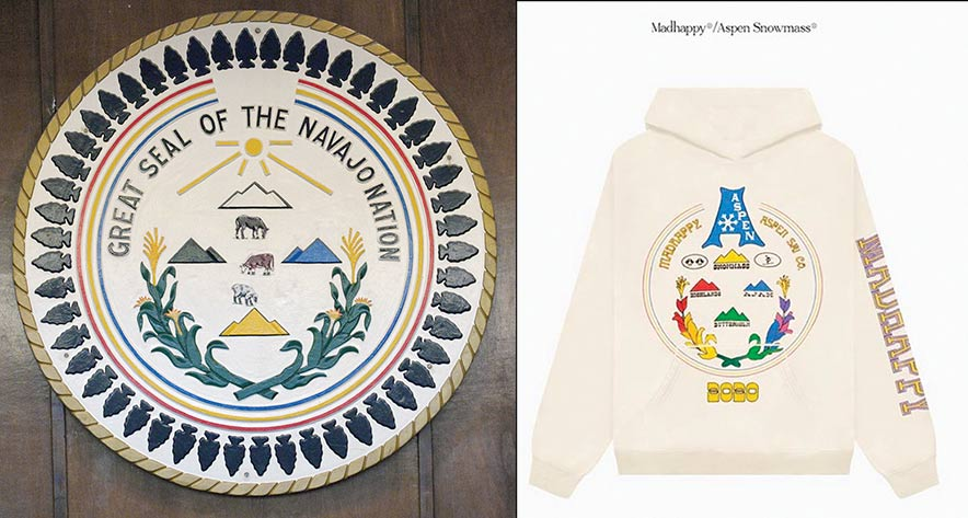 Clothing retailer apologizes for design resembling Navajo seal