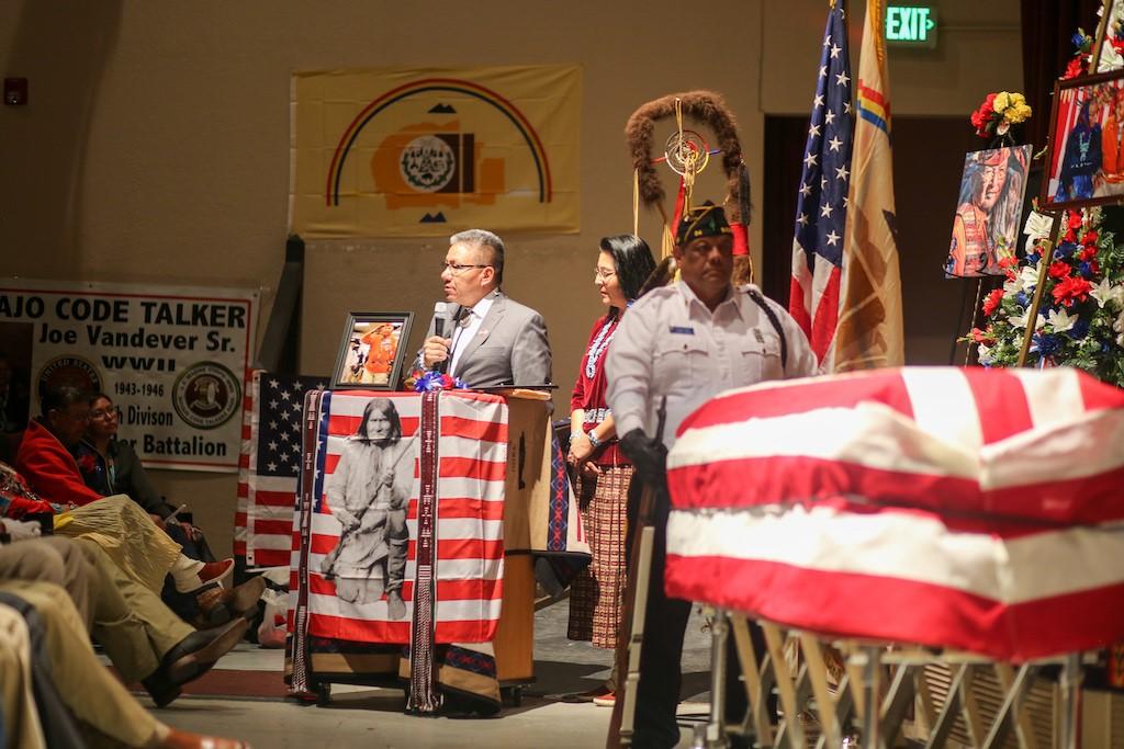 Navajo Code Talker Joe Vandever Sr. Remembered for His Great Sacrifices