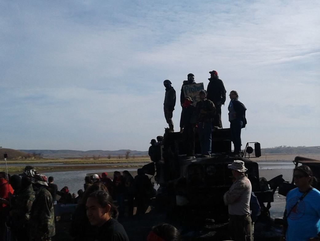 Native Americans, Supporters React to DAPL Ruling for Tribes